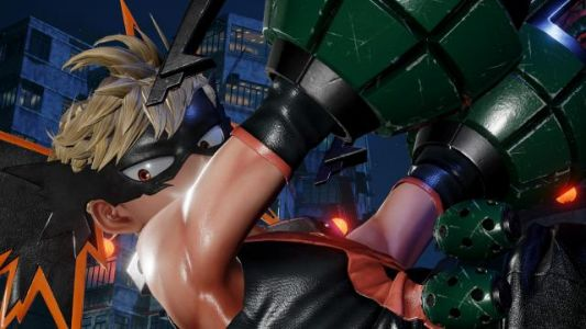 Jump Force Bakugo DLC Screenshots Released