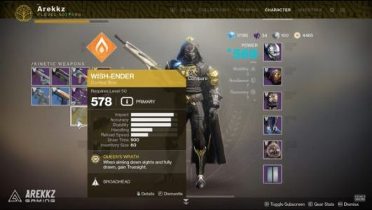 Destiny 2: Forsaken - How to get the Wish-Ender Exotic Bow