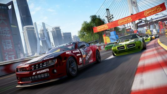 GRID Speeds Through Shanghai And San Francisco In New Gameplay Footage