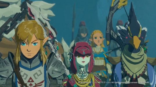 New Hyrule Warriors: Age of Calamity trailer unites the four Champions from Breath of the Wild