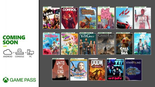 Xbox Game Pass Adds Control, Dragon Quest XI, Greedfall, and More in December
