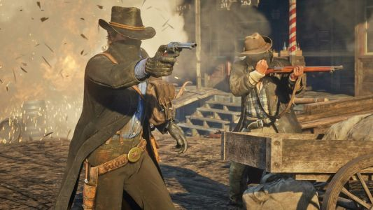 Get really skinny by jacking up the framerate in Red Dead Redemption 2 on PC