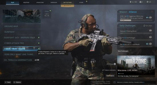 Infinity Ward trolls Modern Warfare players with 24/7 playlist of the game's worst map