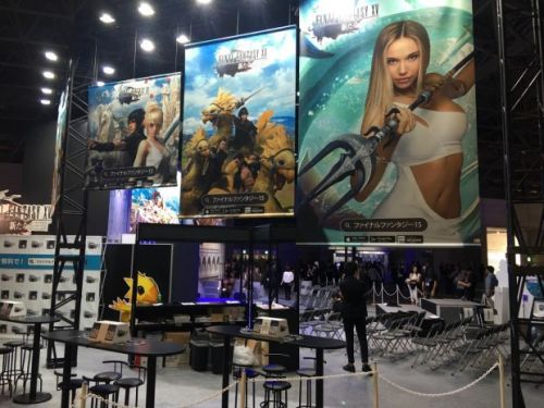 TGS 2017: 'Final Fantasy 15: Pocket Edition' Makes a Video Appearance at Square Enix's Booth