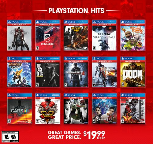 Introducing PlayStation Hits: Great Games at a Great Price