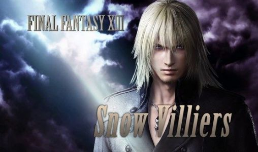 Snow Villiers Officially Joins Dissidia Final Fantasy NT