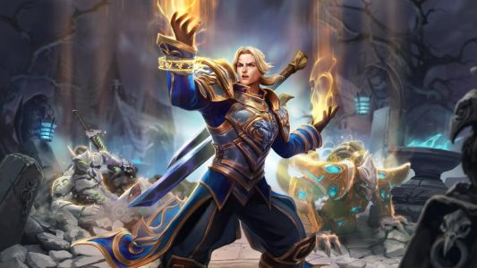 Anduin is the priest Heroes of the Storm always needed