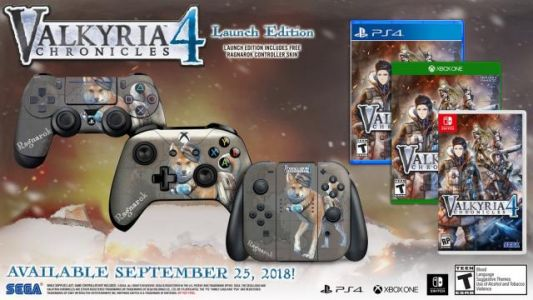 Valkyria Chronicles 4 Launches September 25th in the West