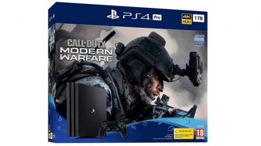 Call of Duty: Modern Warfare PS4 Pro bundle announced