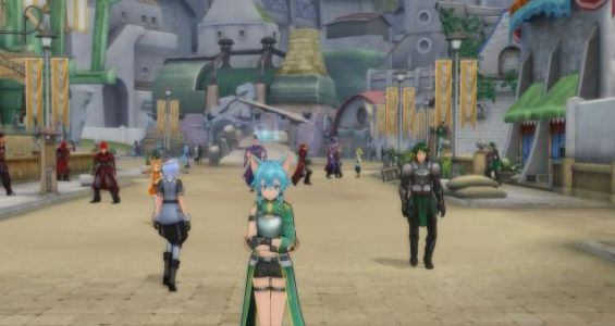 Sword Art Online Re: Hollow Fragment Gets PC Release Date