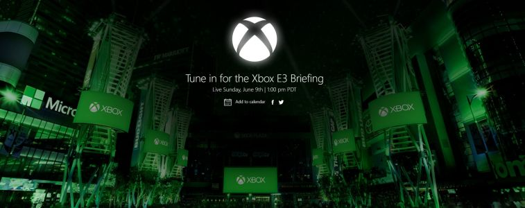 Microsoft's E3 conference will be held on June 9