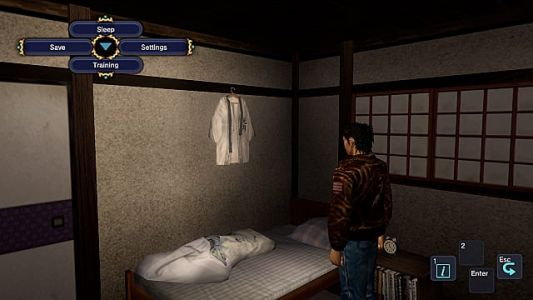 Shenmue 1+2 Guide: How to Sleep