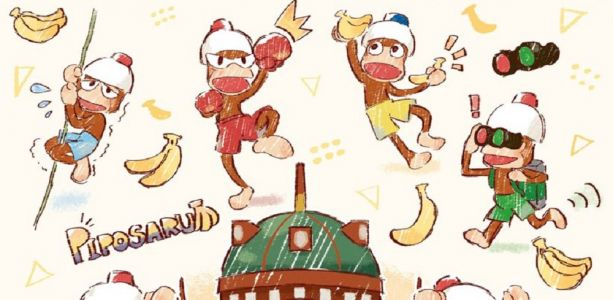 Sony Japan spotlight Ape Escape 20th anniversary video and twitter account