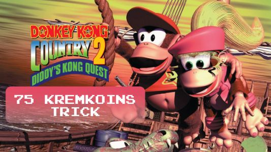 Tip: The 75 Kremkoin Trick in Donkey Kong Country 2