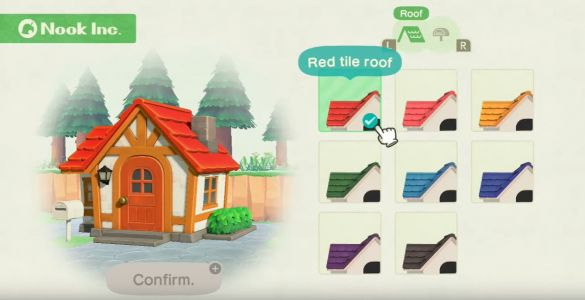Animal Crossing: New Horizons Roof Colors - which should you pick and how do you change?