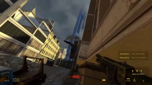 Half-Life 2 Mobility Mod Turns Basically Turns It Into Titanfall 2