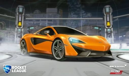 The McLaren 570S is Now Available in Rocket League