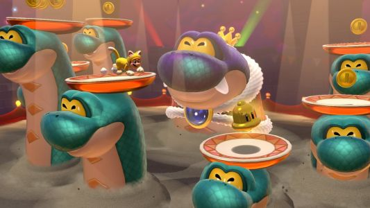Super Mario 3D World + Bowser's Fury clocks in at a breezy low 2.9GB