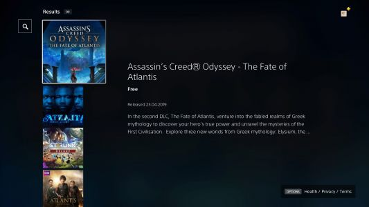 How to start The Fate of Atlantis Assassin's Creed Odyssey DLC - Fields of Elysium, Torment of Hades & Judgement of Atlantis