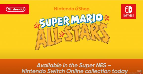 Super Mario All-Stars is coming to Nintendo Switch Online Today
