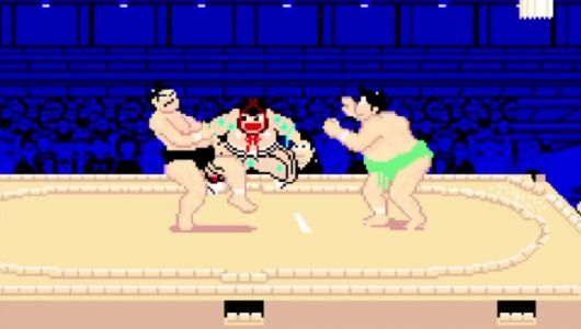 Can you become Yokozuna with retro release Shusse Ozumo for Nintendo Switch?
