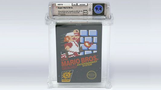 Copy of Super Mario Bros. Sells for More Than $100,000