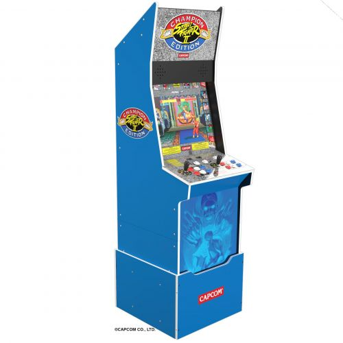 E3 2021: Arcade 1Up announces three more arcade machines in Street Fighter II Big Blue, Ms. Pac-Man/Galaga, and Turtles in Time