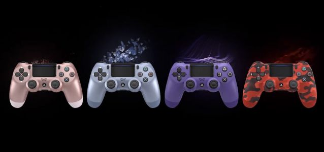 Four new wild and crazy, '90s as hell PS4 DualShock controllers are on the way