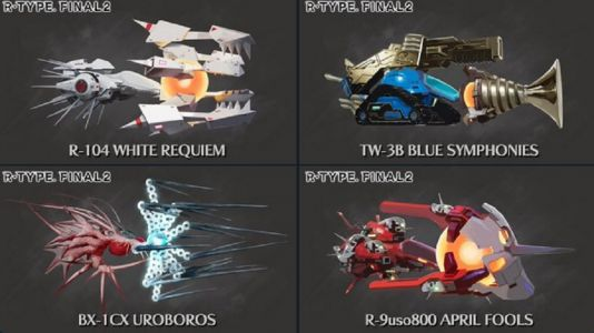 Which of these four ships would you like to see in R-Type Final 2?