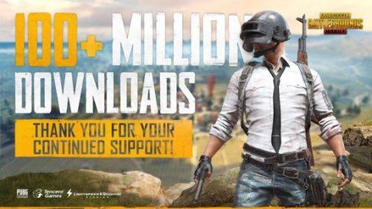 PUBG Mobile has been downloaded over 100M times and has 14M daily players
