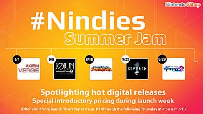 September will be 'Nindie' month for Nintento eShop