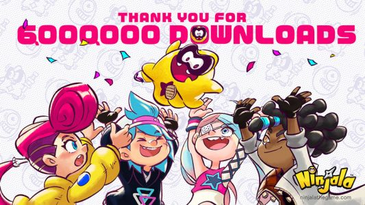 Ninjala Tops Six Million Downloads