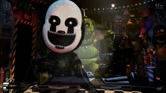 Five Nights at Freddy's mashup game Ultimate Custom Night now available for PS4, Xbox One, and Switch