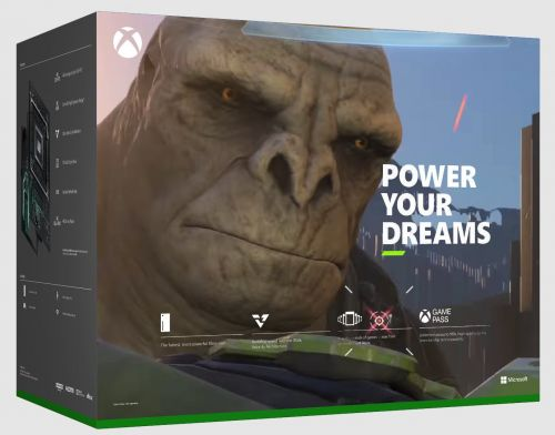 The back of the Xbox Series X retail box prominently features Master Chief, so fans replaced him with Craig