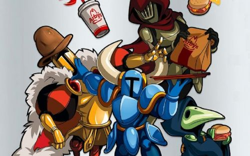 You can bag exclusive Shovel Knight in-game goodies at Arby's