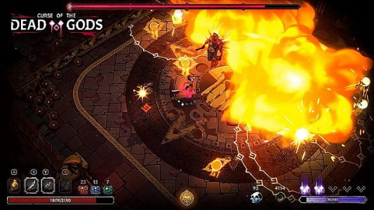 Curse of the Dead Gods Review: The Temple of Doom