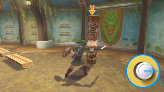 Here is how Zelda: Skyward Sword HD works with traditional controls