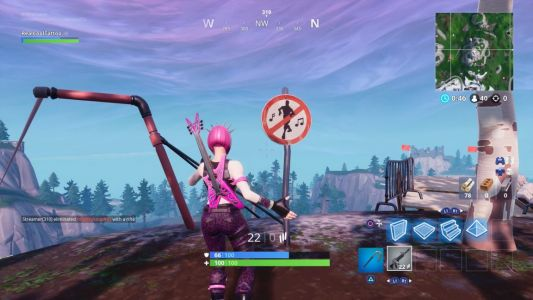 Fortnite: Dance in different forbidden locations