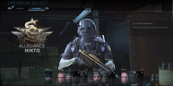 How to Unlock Nikto in Call of Duty: Modern Warfare | Game Rant