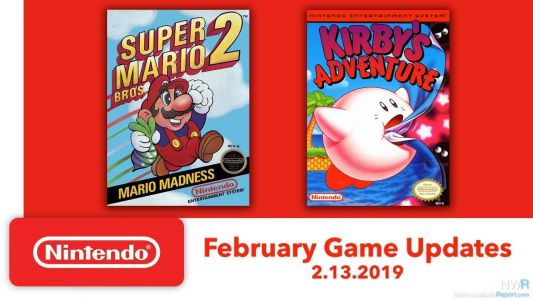 Super Mario Bros 2, Kirby's Adventure Coming To Switch Online Next Week