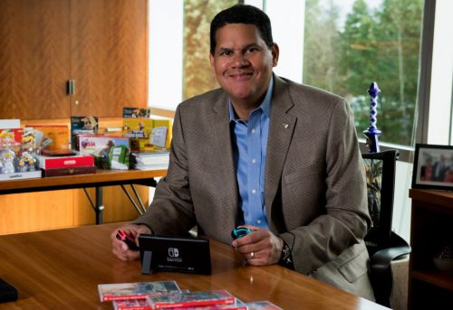 Final day at Nintendo of America arrives for Reggie Fils-Aime