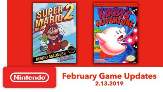 Mario and Kirby Classics Coming to Switch Next Week
