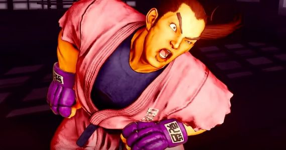 Here's our first look at Street Fighter V's Dan Hibiki in his taunting element