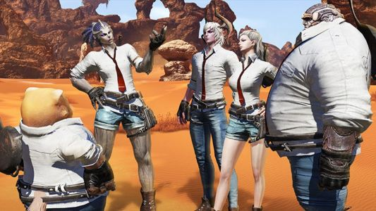 Because PUBG crosses over with everything, it's coming to the world of.TERA?