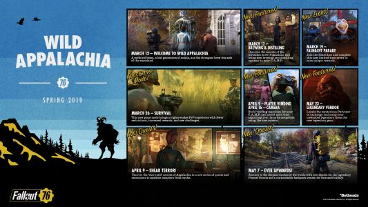 Fallout 76 roadmap outlines upcoming seasons, Wild Appalachia release date