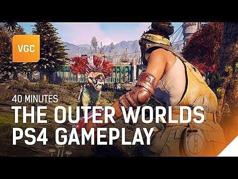 Watch 40 Minutes of Gameplay for The Outer Worlds