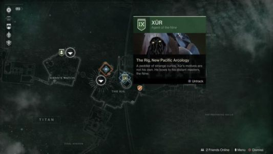 Destiny 2: Xur location and inventory, December 6-9
