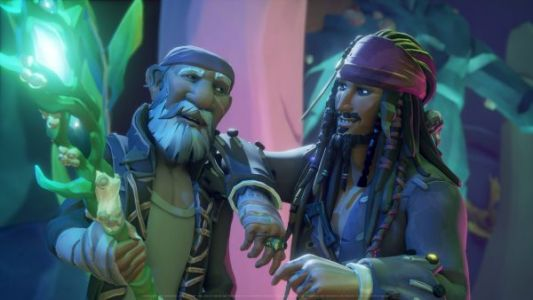 The best part of the new Sea of Thieves and Pirates of the Caribbean crossover? Other players can't grief you