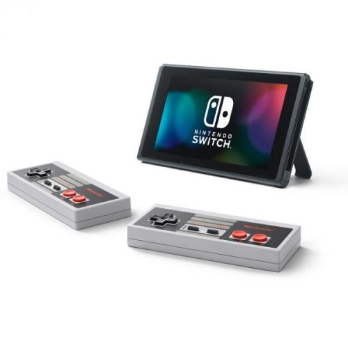 Get those neat official NES Switch controllers on sale at Nintendo Store US!