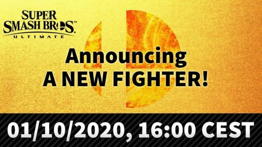 The next Super Smash Bros. Ultimate fighter is being revealed on October 1